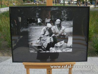 Skwer im. Jakuba Lechowskiego w Radomsku - zdjęcia z otwarcia